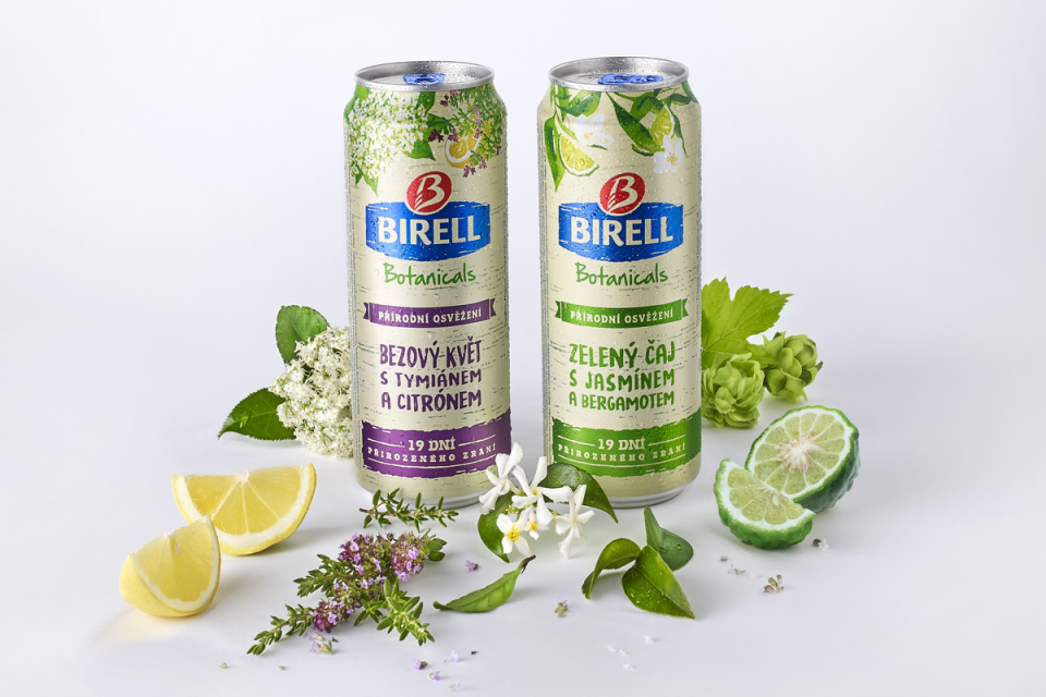 Plzeňský Prazdroj uvádí novou řadu nealko piva Birell Botanicals
