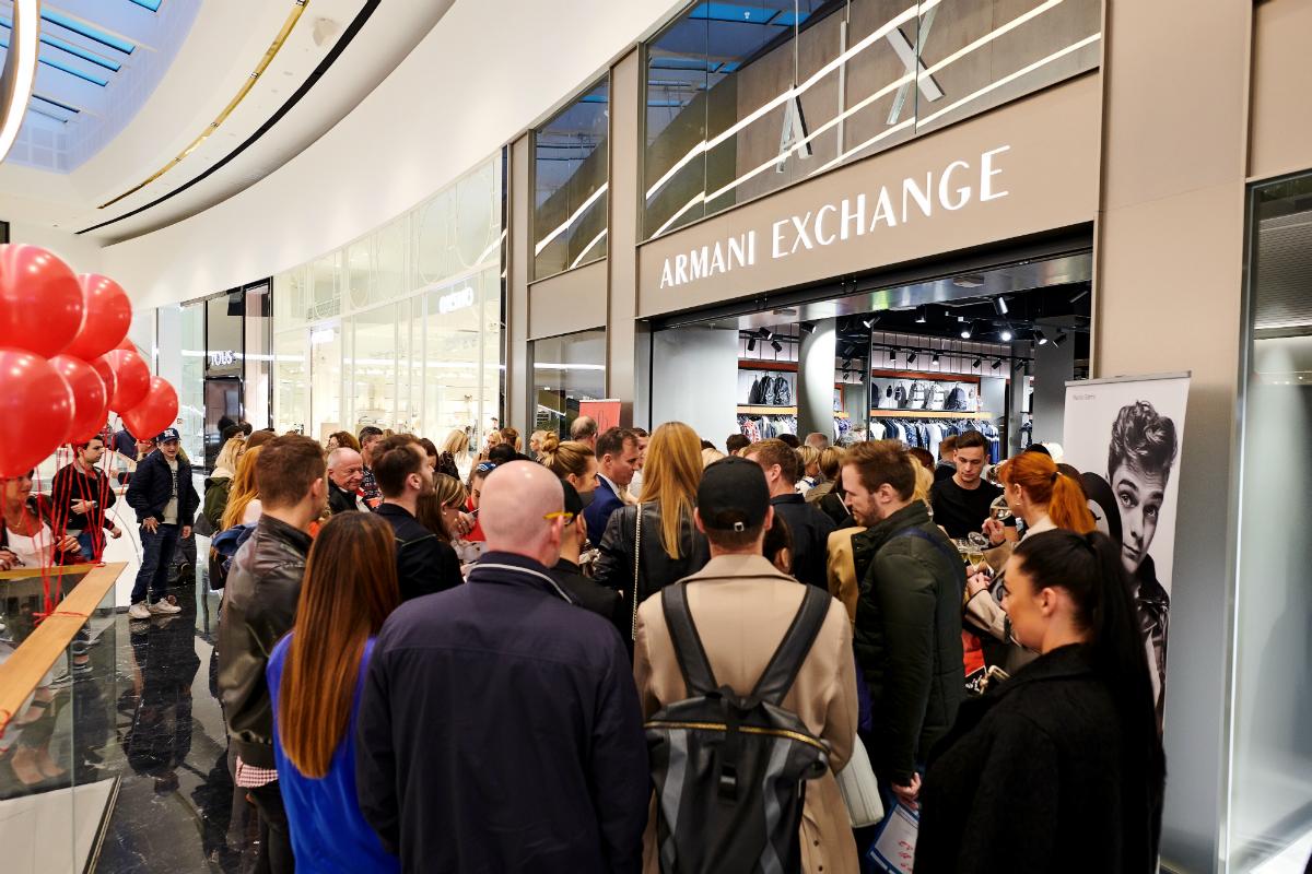 Armani Exchange otevření
