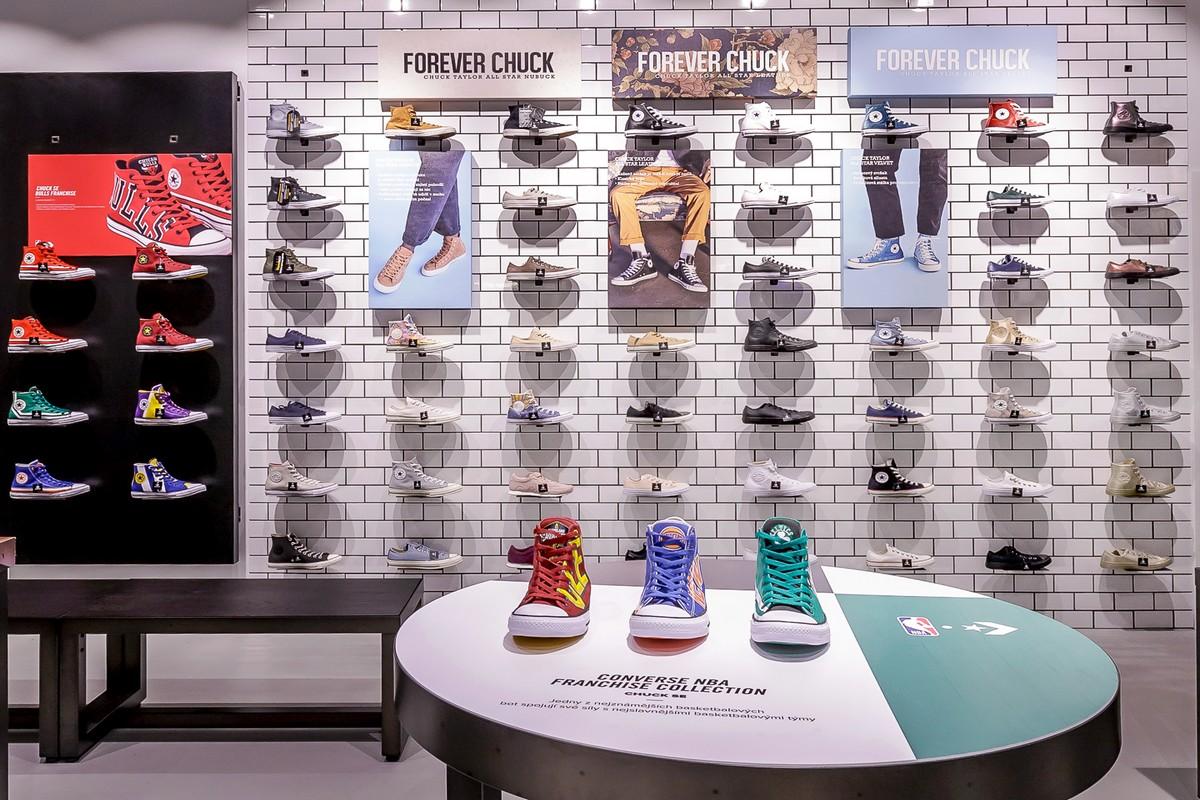 Nový monobrandový butik Converse na Chodově