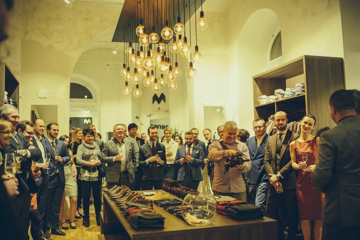 Interiér nového showroomu značky Manemo