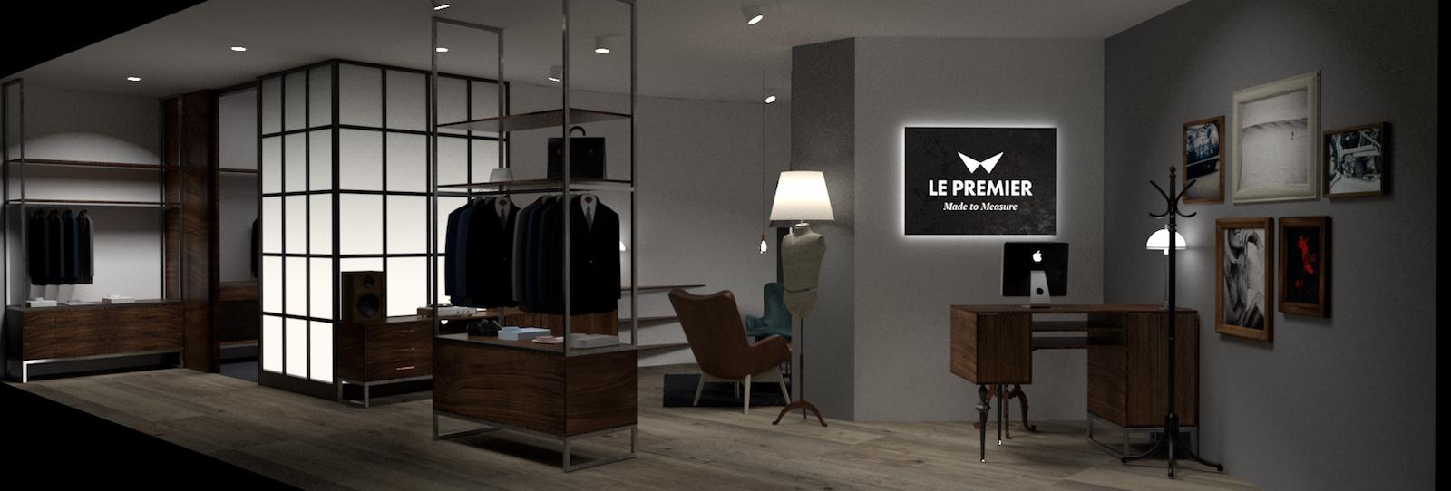 Nový design prodejen Le Premier