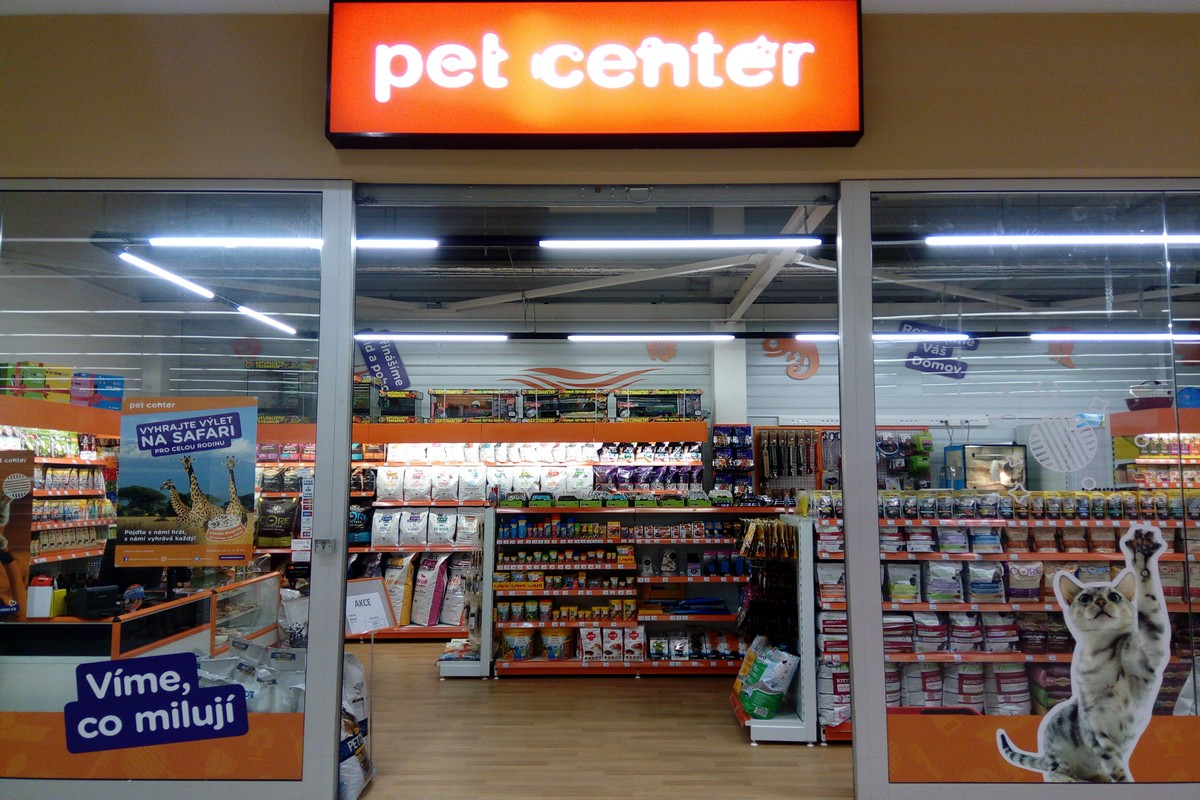 Nová prodejna Pet Center v Písku