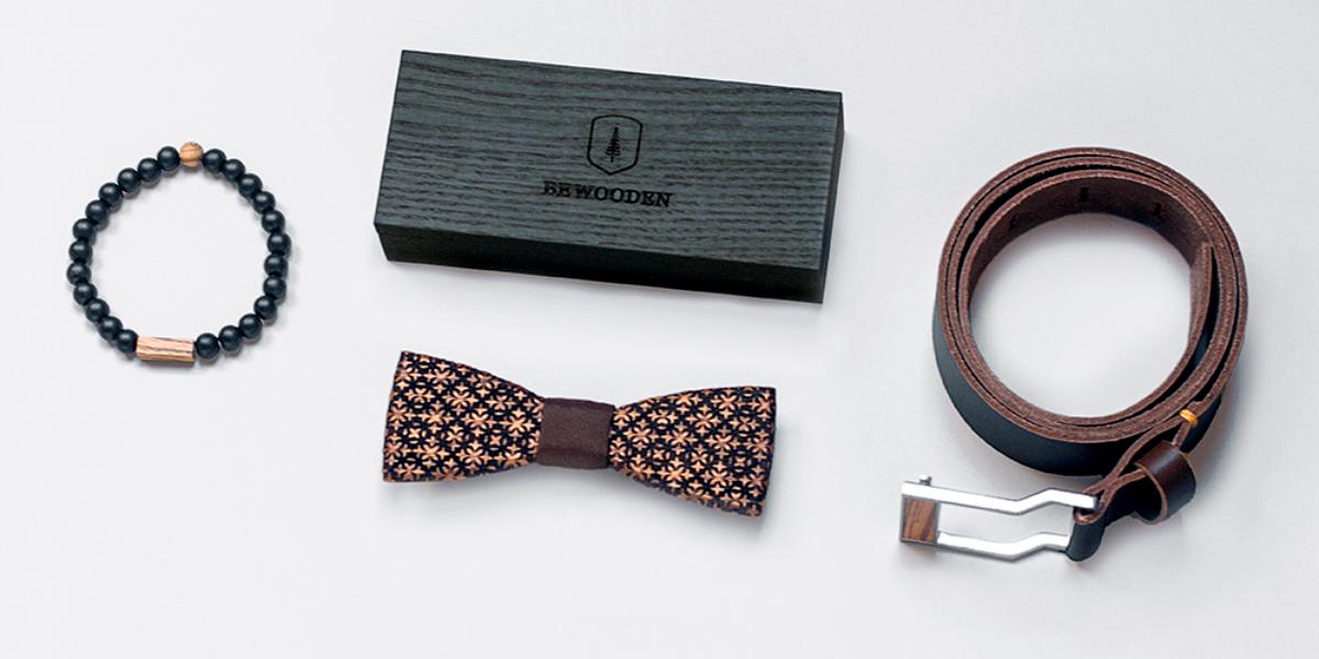 Výrobky BeWooden z Hukvald v Beskydech