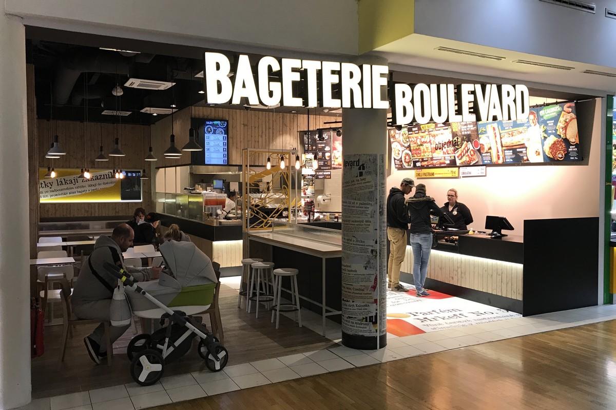Nová Bageterie Boulevard v brněnské Olympii