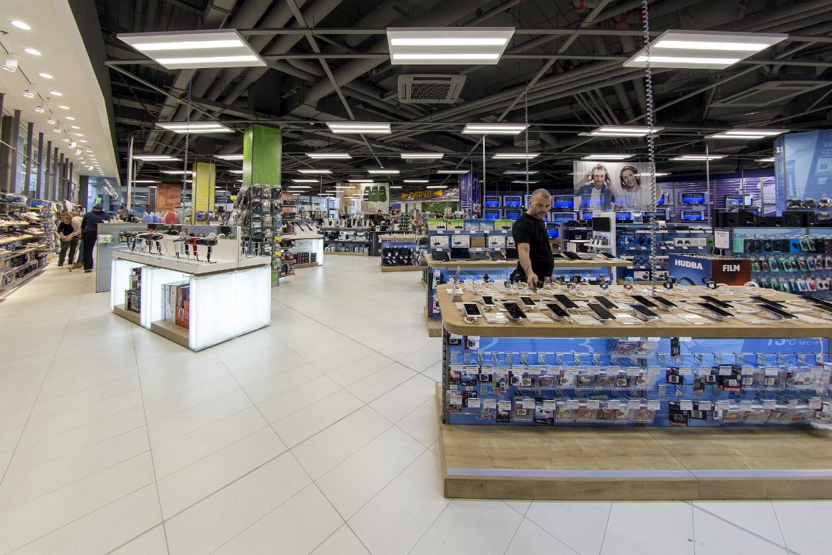 Druhá nově otevřená prodejna se nachází v rozšířeném centru Igy v Českých Budějovicích