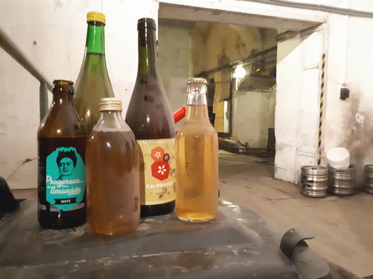 Vývoj balení nápojů F.H. Prager