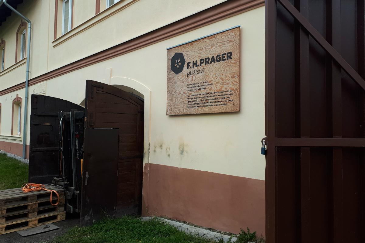 F. H. Prager jablářství a nápojářství