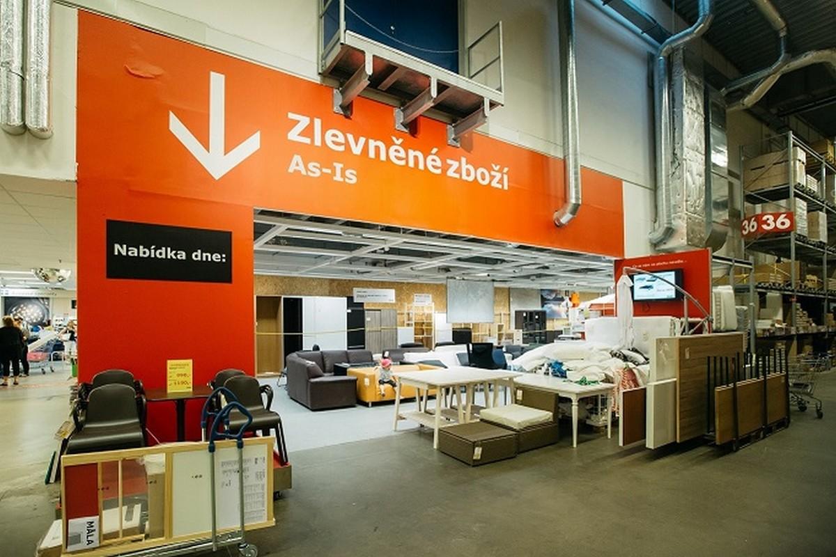 Výkup starého nábytku v obchodních domech Ikea