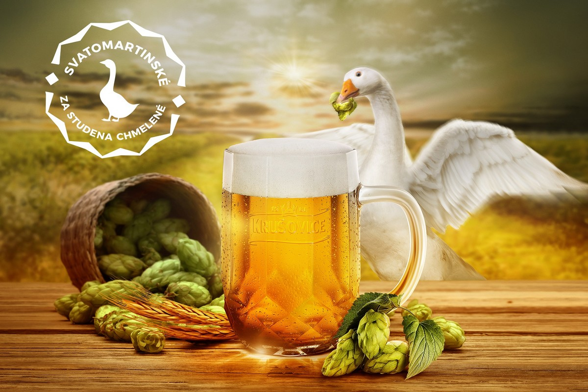 Svatomartinský speciál od pivovaru Krušovice