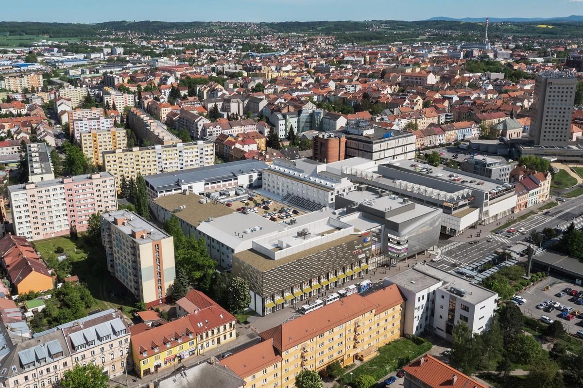 Obchodní centrum Igy v Českých Budějovicích