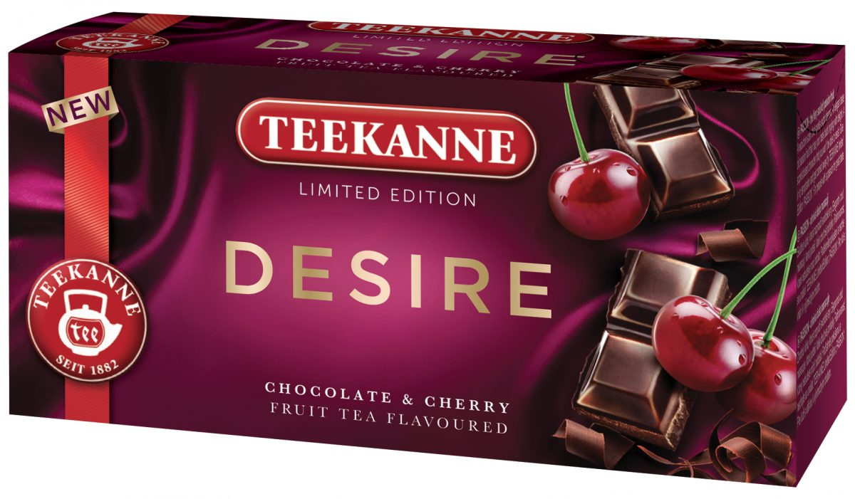 Nová edice Teekanee Desire třešně s čokoládou