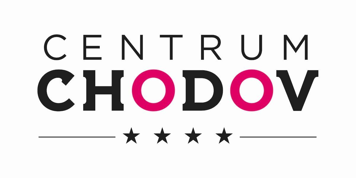 Inovované logo Centra Chodov, se čtyřmi hvězdičkami