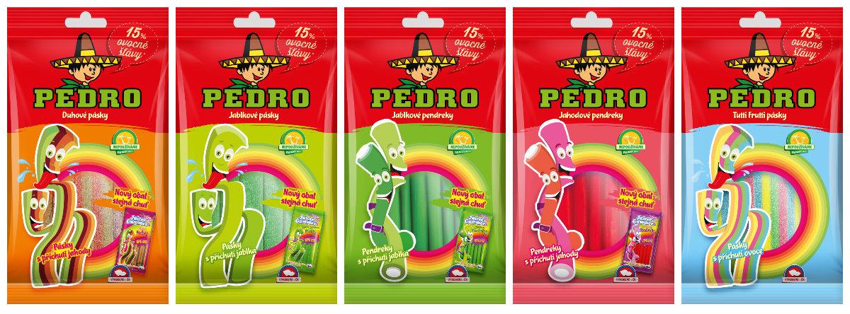 Pět novinek v portfoliu značky Pedro