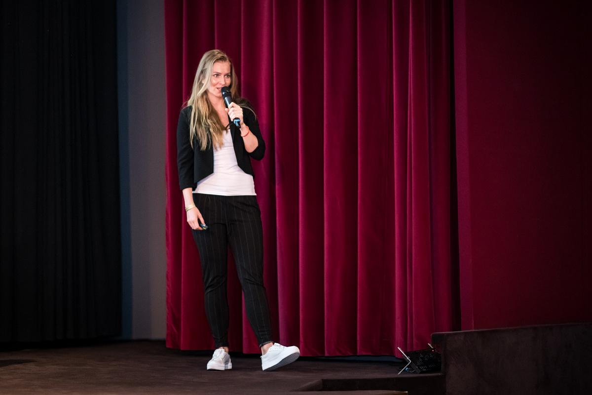 Andrea Burgerová ze Zootu na konferenci také vystupovala. Foto: Vojta Herout