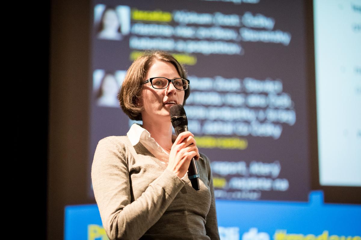 Jana Pytelková Svobodová z ASB Group. Foto: Vojta Herout