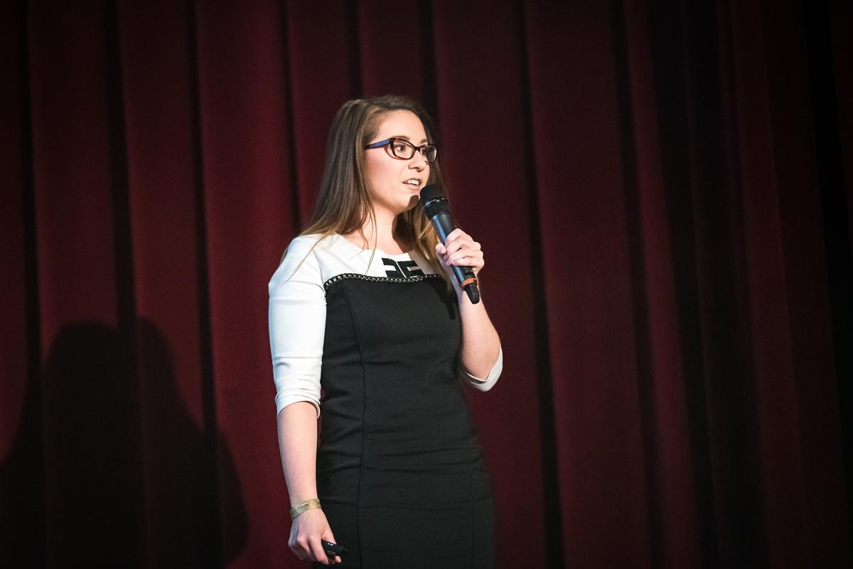 Kateřina Petránková z Ipsosu. Foto: Vojta Herout