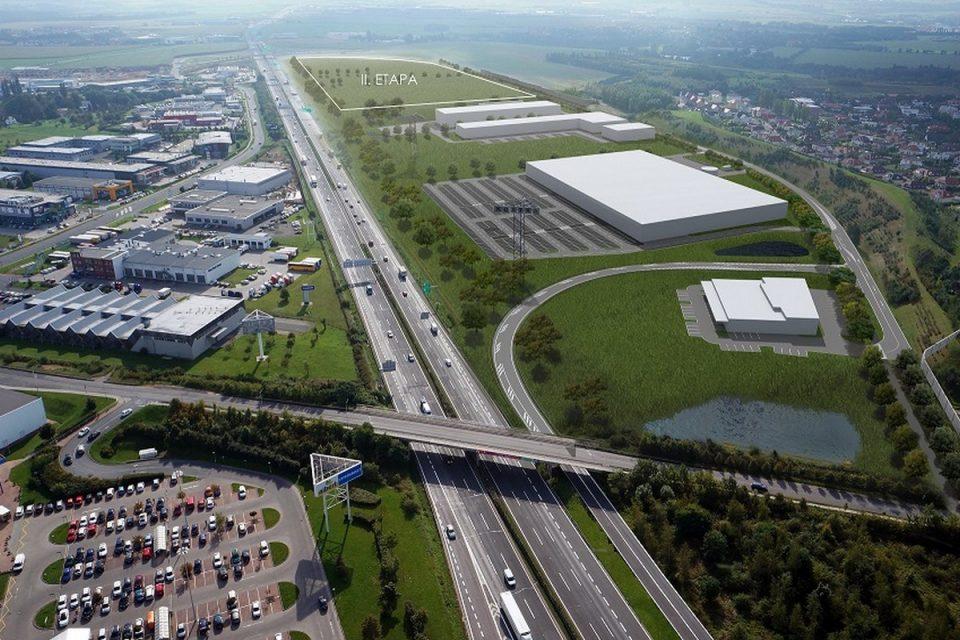 U Čestlic a Průhonic vznikne obří nákupní zóna na ploše 39 hektarů
