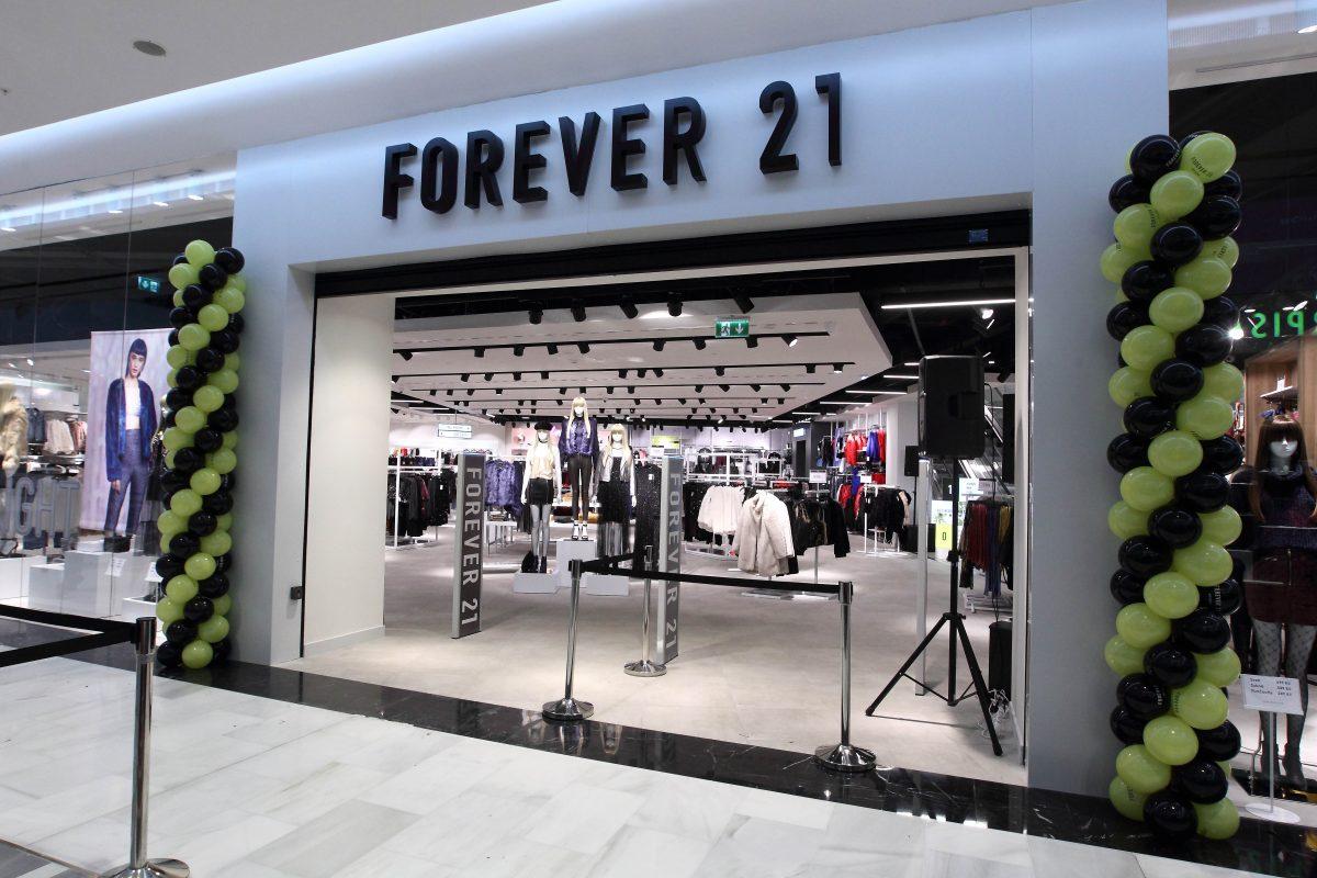 Nová prodejna Forever 21 v Centru Chodov