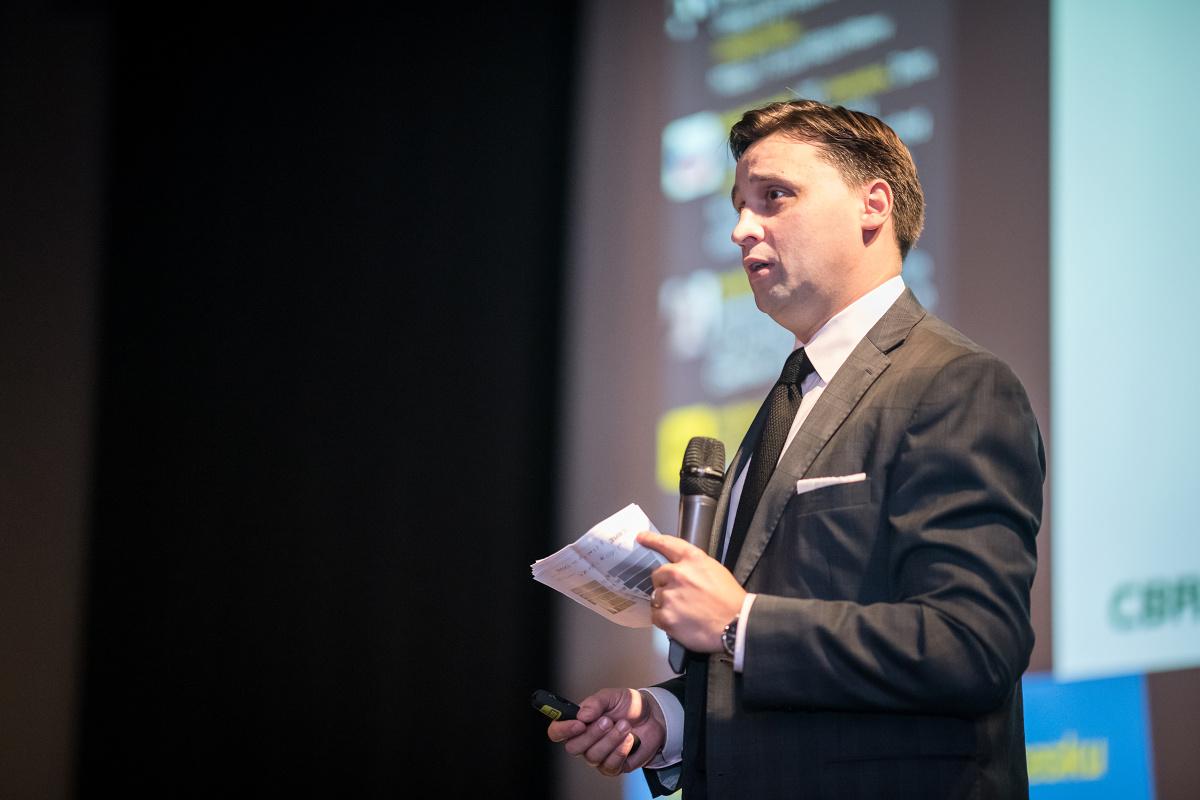 Tomáš Beránek z CBRE. Foto: Vojta Herout