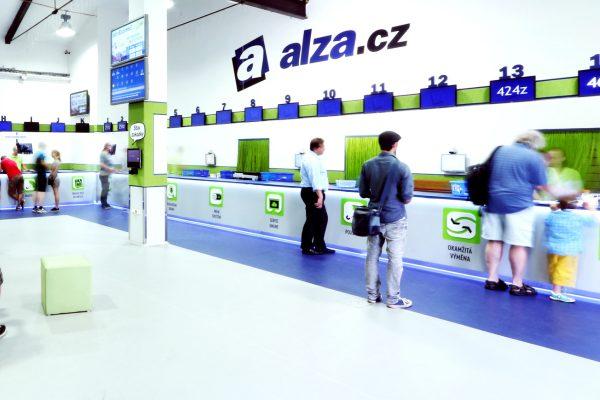 Alza.cz má od pondělí výpadek systému, nefunguje výdej objednávek