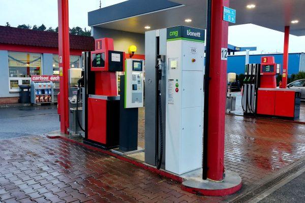 Bonett zprovoznil v Česku další stanici s CNG, na dálnici D5