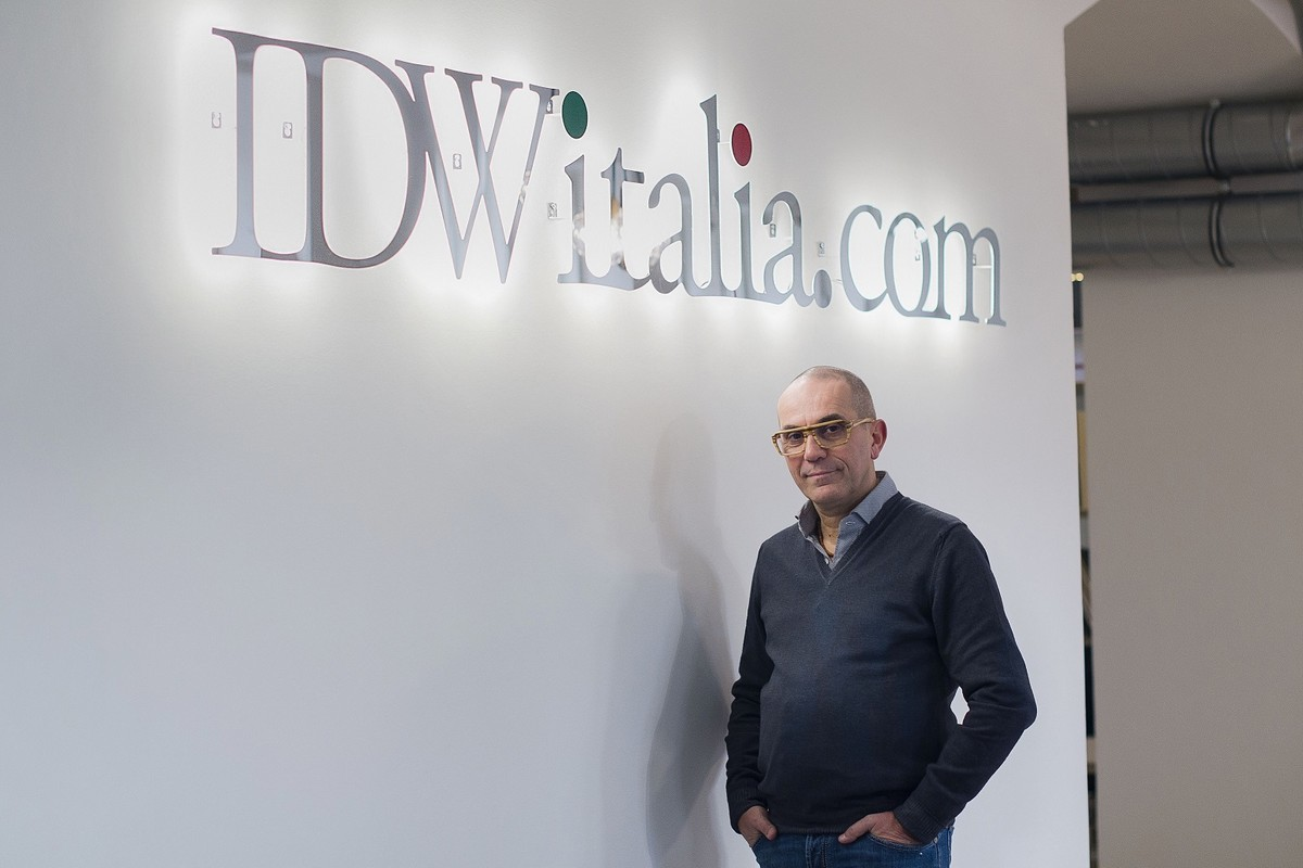 Zakladatel firmy Cristiano Castaldi