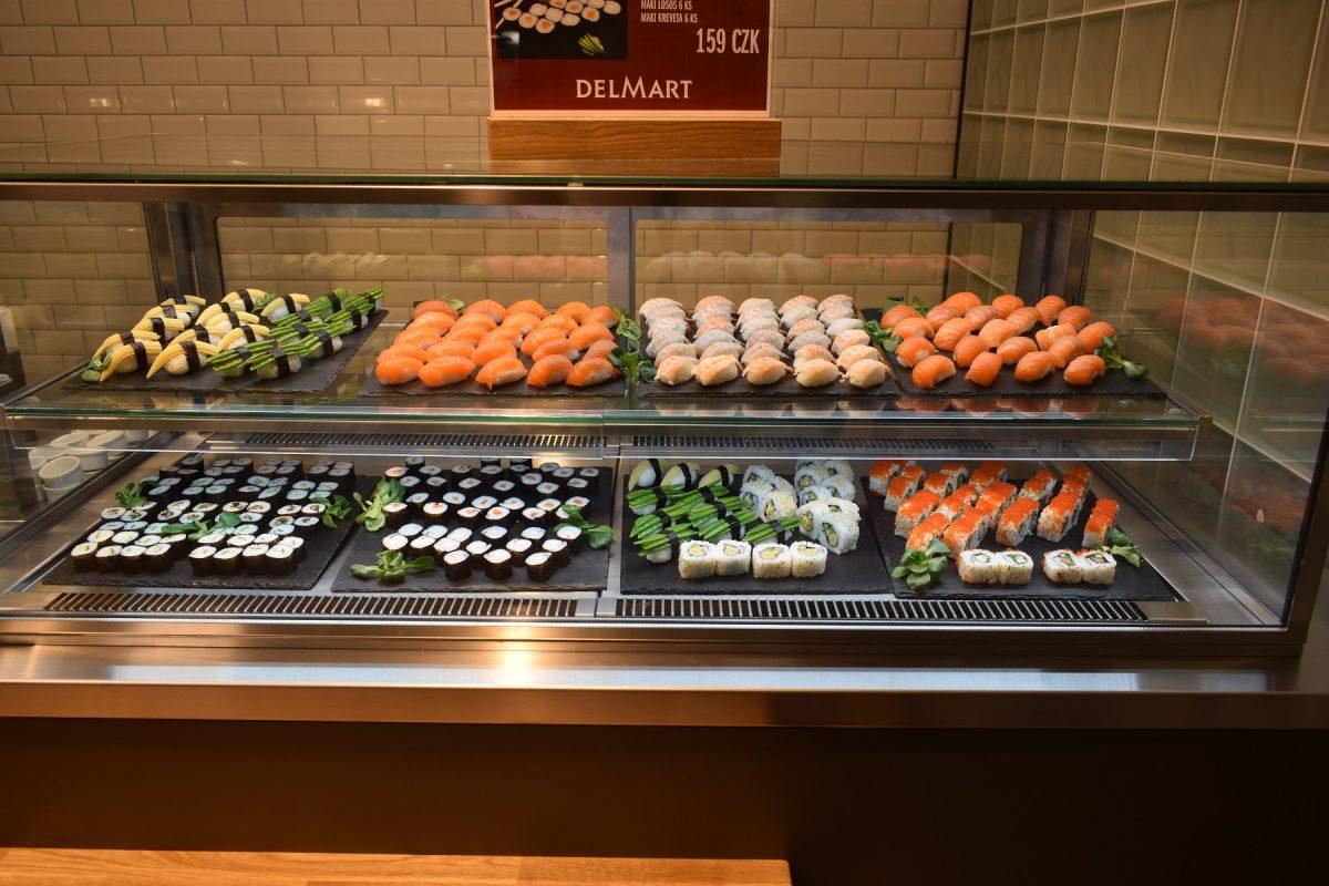 Nově je v nabídce sushi od Sushiqueen