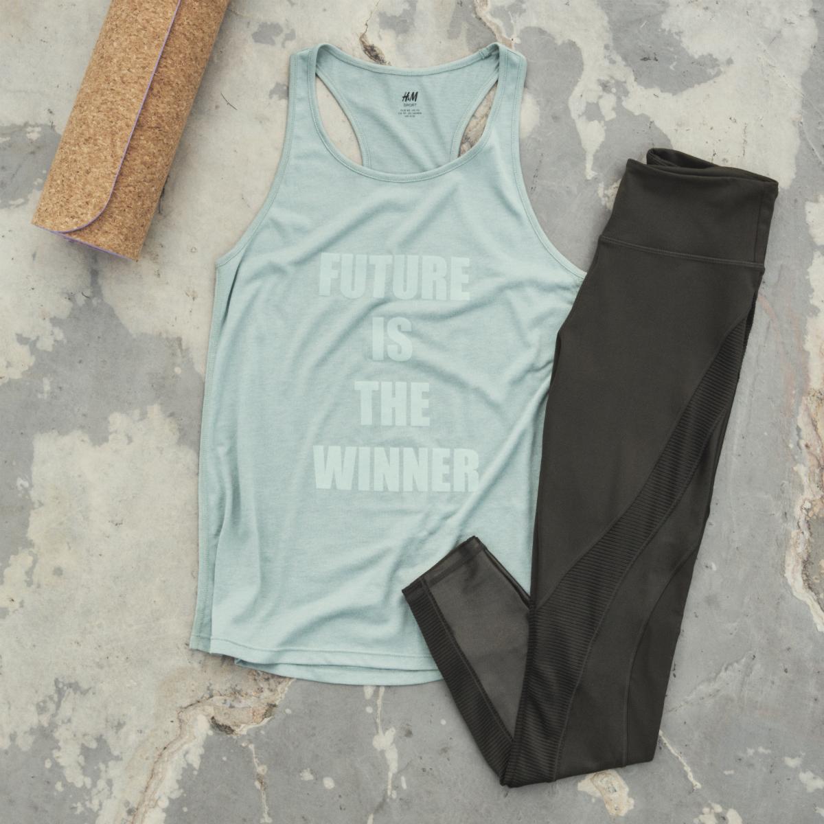 Oblečení z nové kolekce H&M Sport