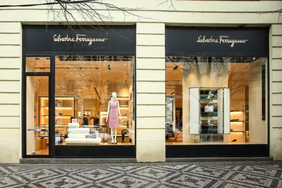 Nový butik Salvatore Ferragamo v Pařížské je otevřený