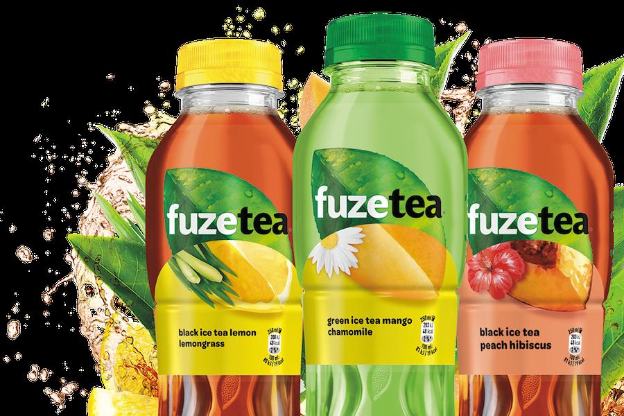 Coca-Cola přivádí do Česka ledové čaje Fuzetea, chutnají jinak než ve světě