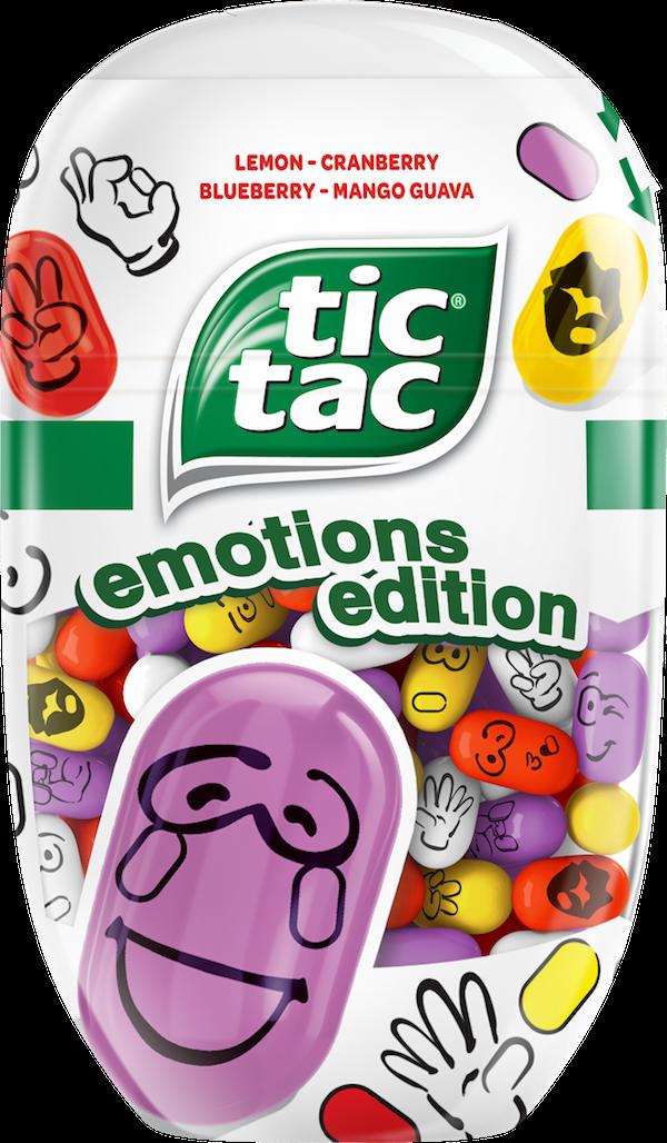 Limitovaná edice Tic Tac Emotions