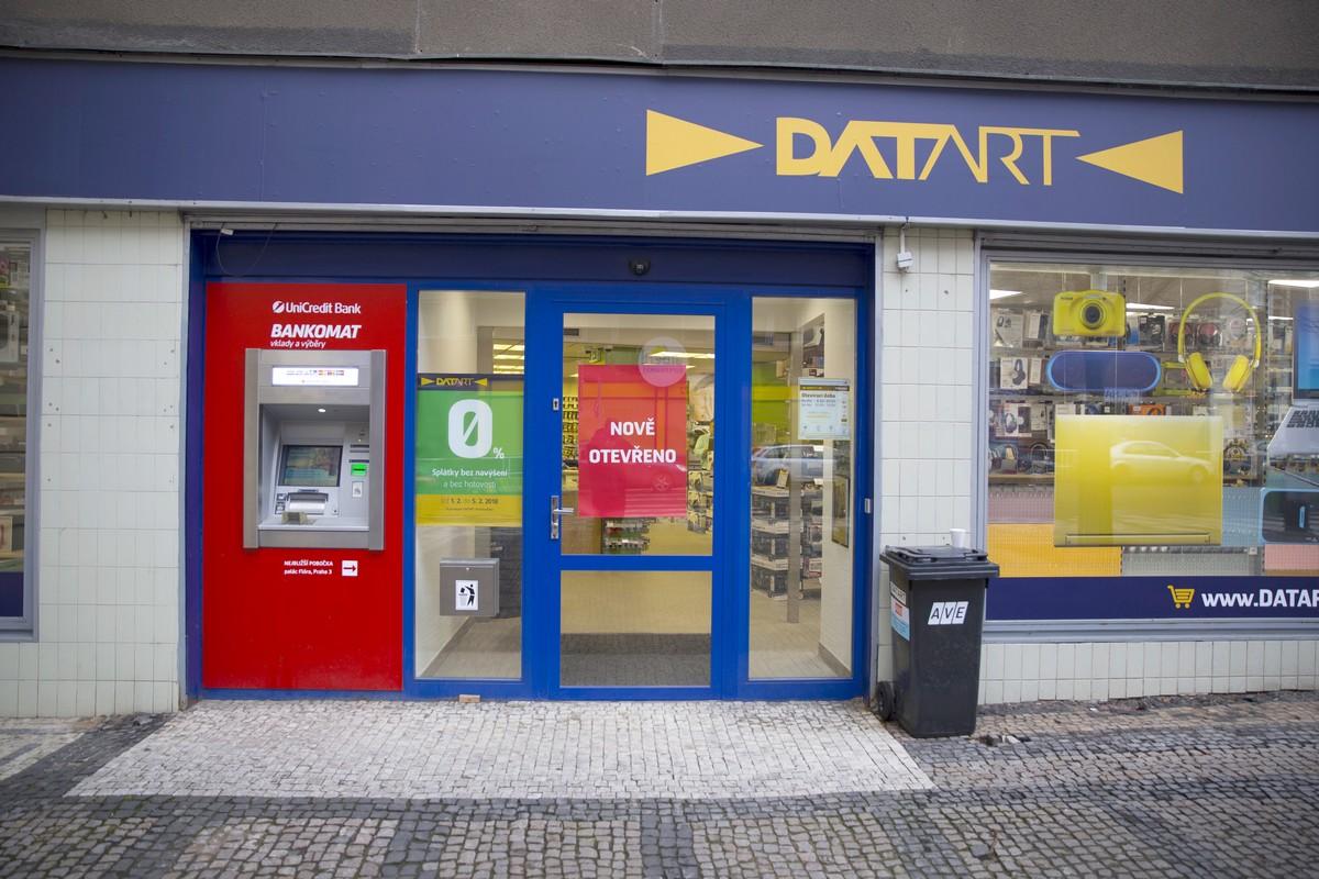 Nová prodejna Datartu na Vinohradech