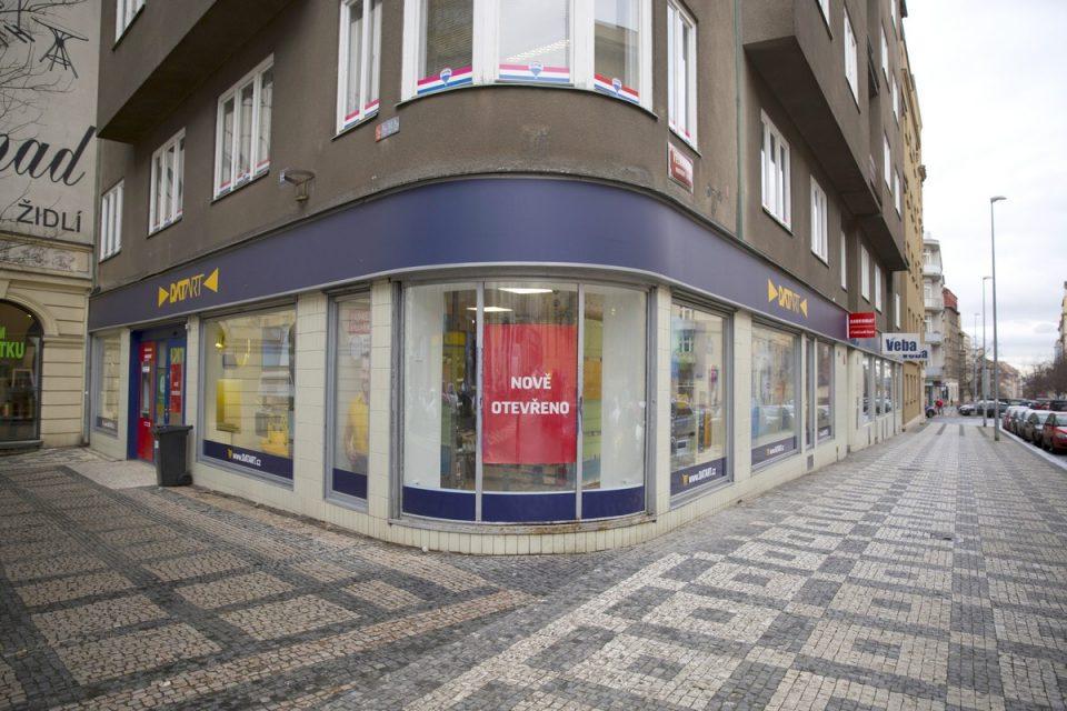 Datart má novou městskou prodejnu, na Vinohradské v Praze