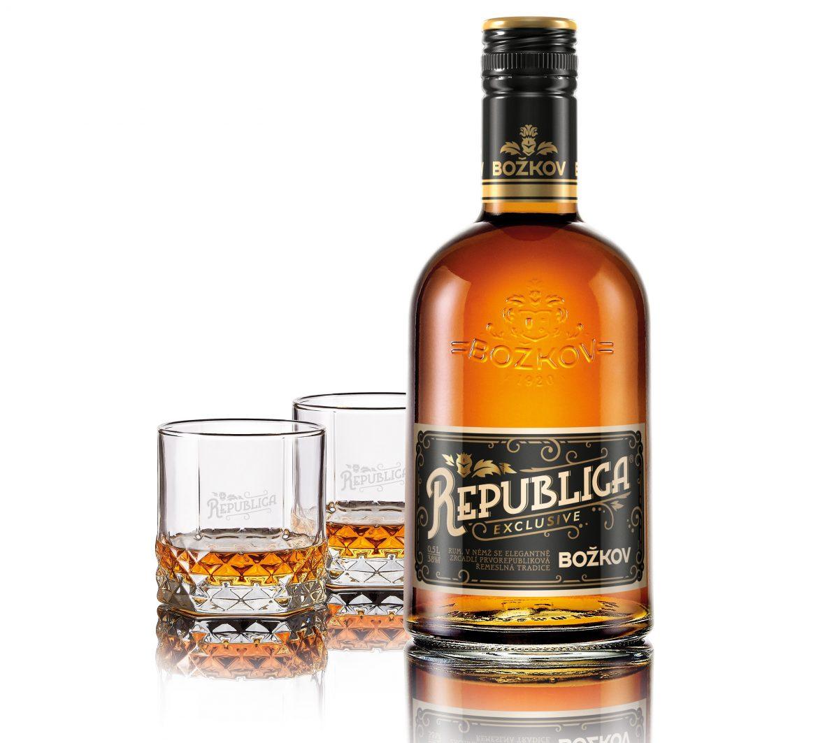 Nový třtinový rum Božkov