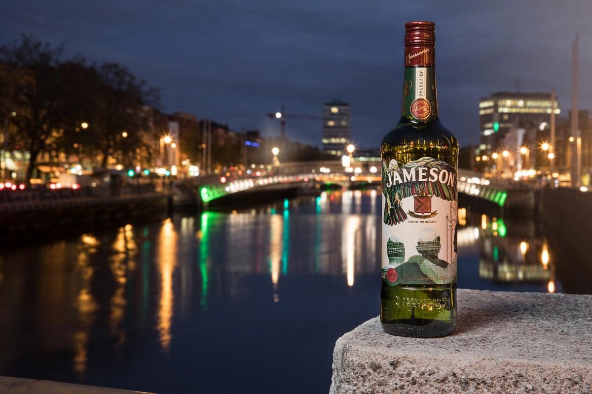 Limitovaná edice whisky Jameson pro letošní rok. Foto:: Eoin Holland