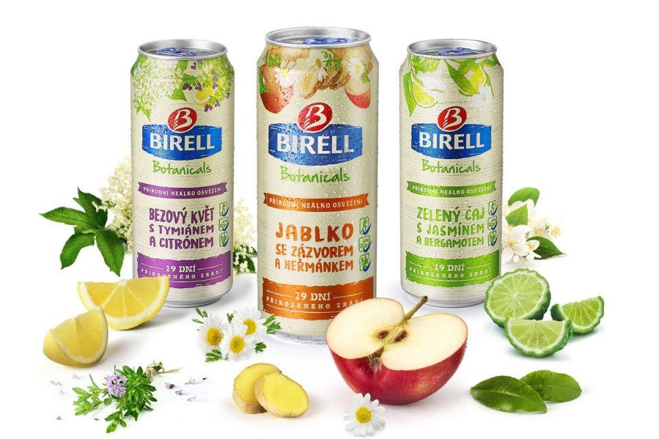 Birell přidává do řady Botanicals příchuť jablka se zázvorem a heřmánkem