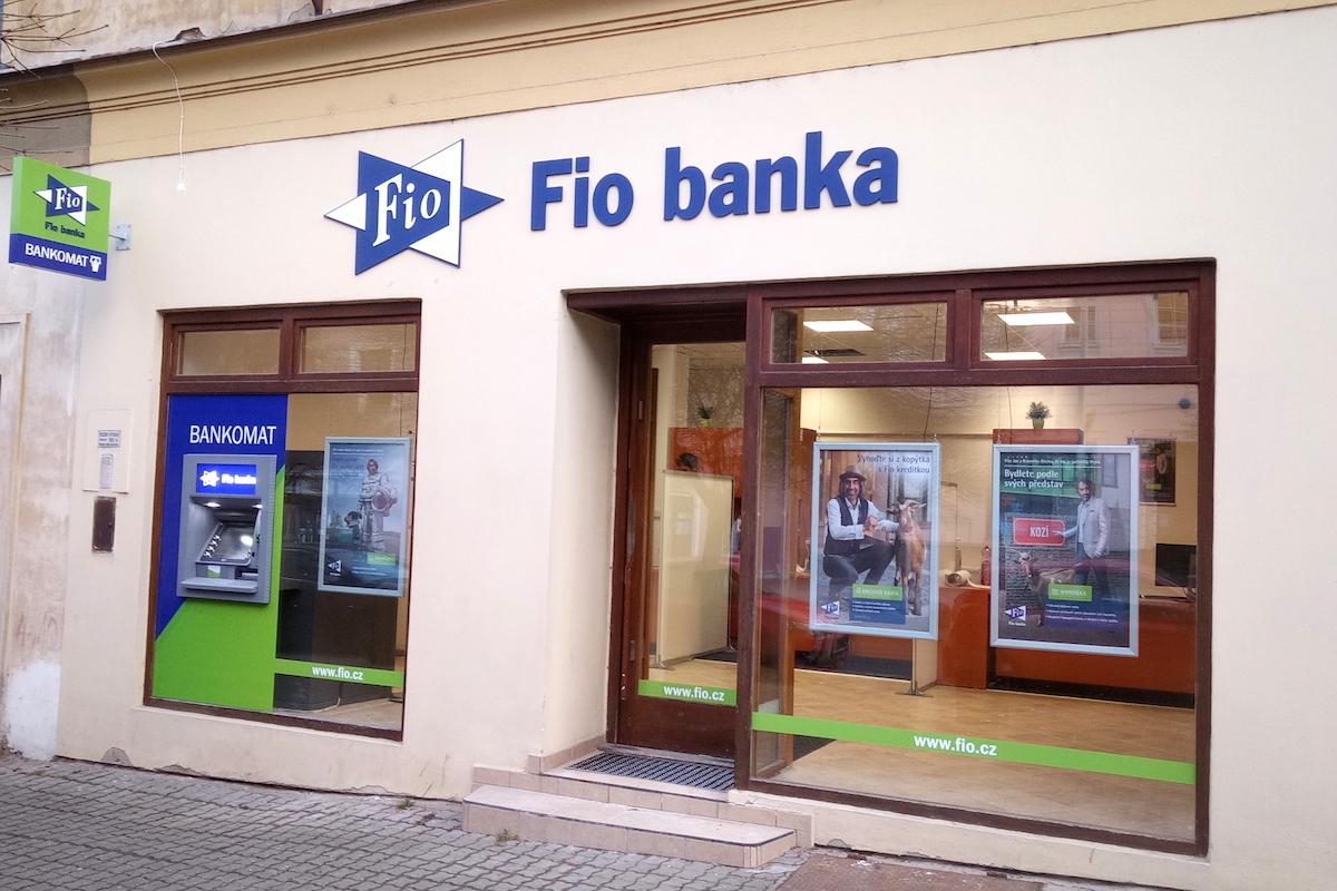Nová pobočka české Fio banky v Litoměřících