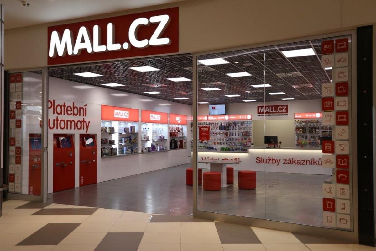 První prodejna Mall.cz v obchodním centru
