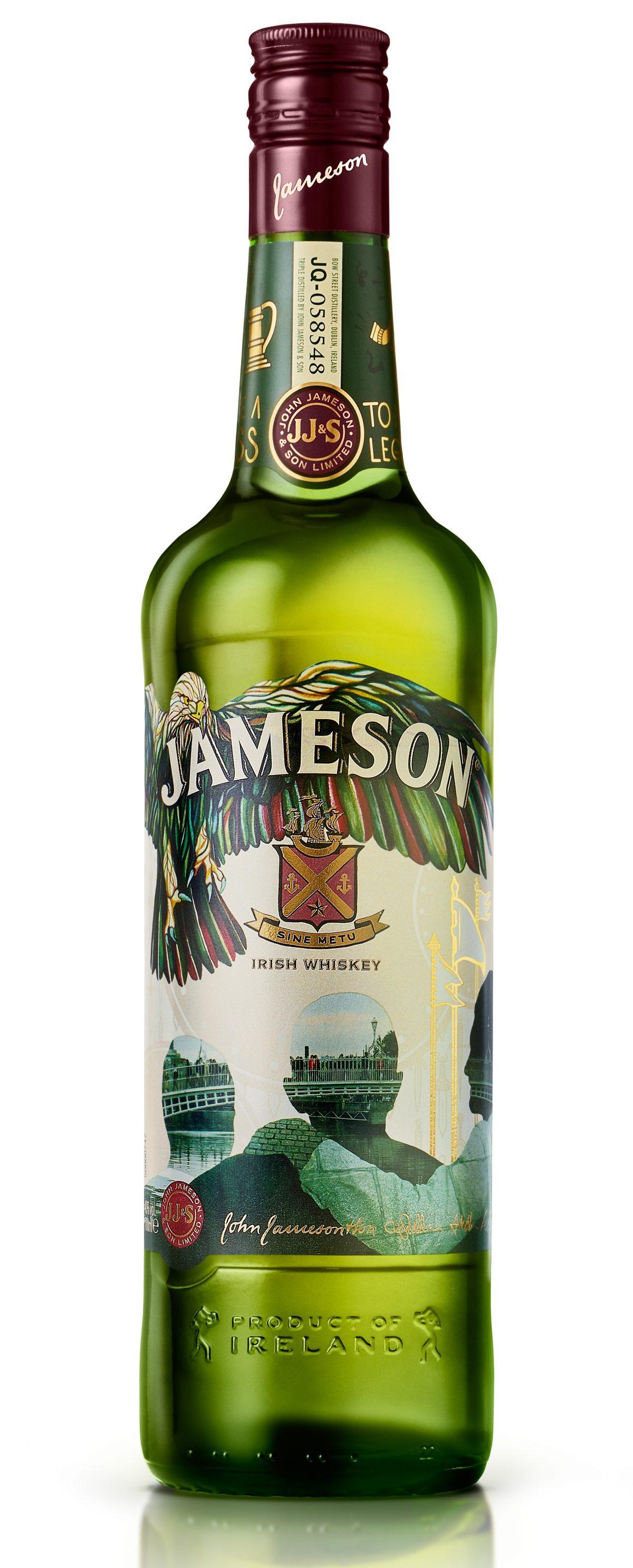 Limitovaná edice whisky Jameson pro letošní rok. Foto: Eoin Holland
