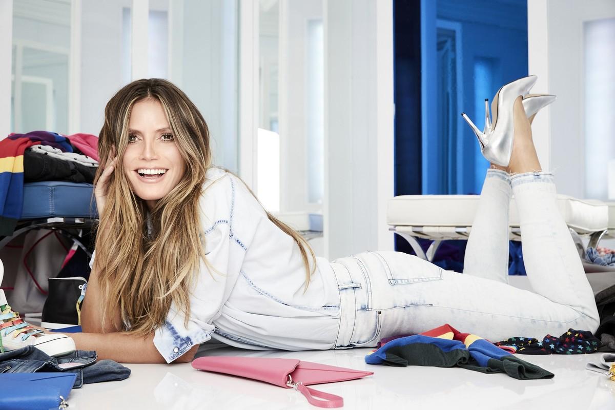 Heidi Klum v nové kampani pro Lidl