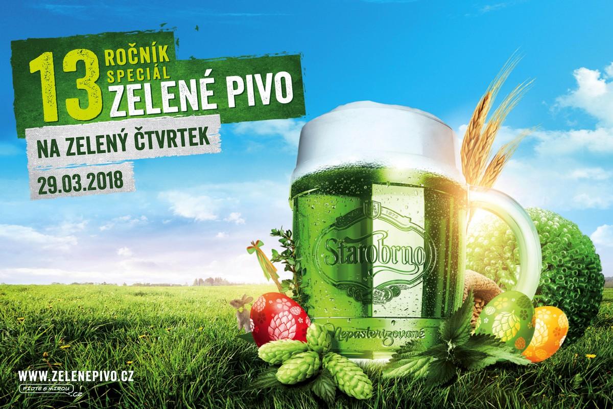 Zelené pivo už tradičně uvaří Starobrno