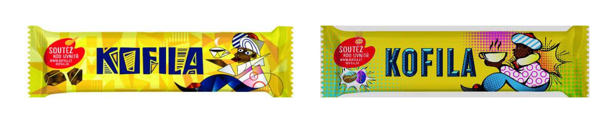 Kubistická a pop-artová Kofila