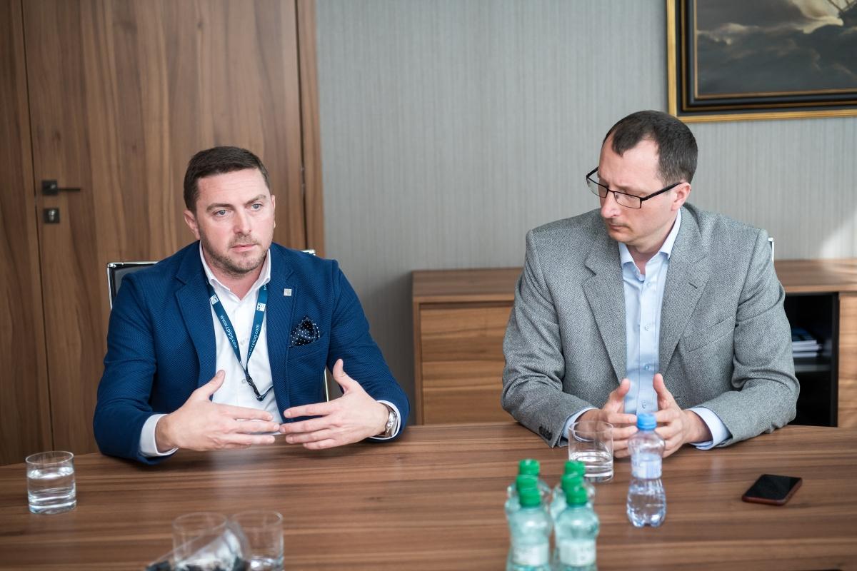 Zleva Petr Brabec a Tomáš Salajka. Foto: Vojta Herout