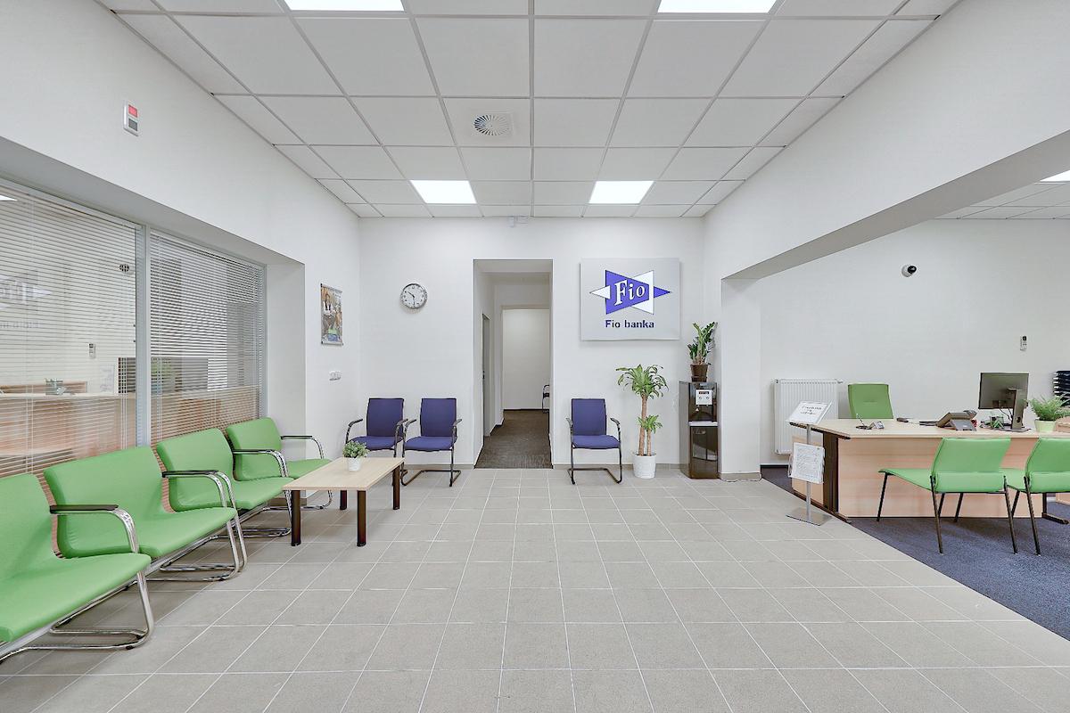 Nová pobočka Fio banky v pražských Nuslích