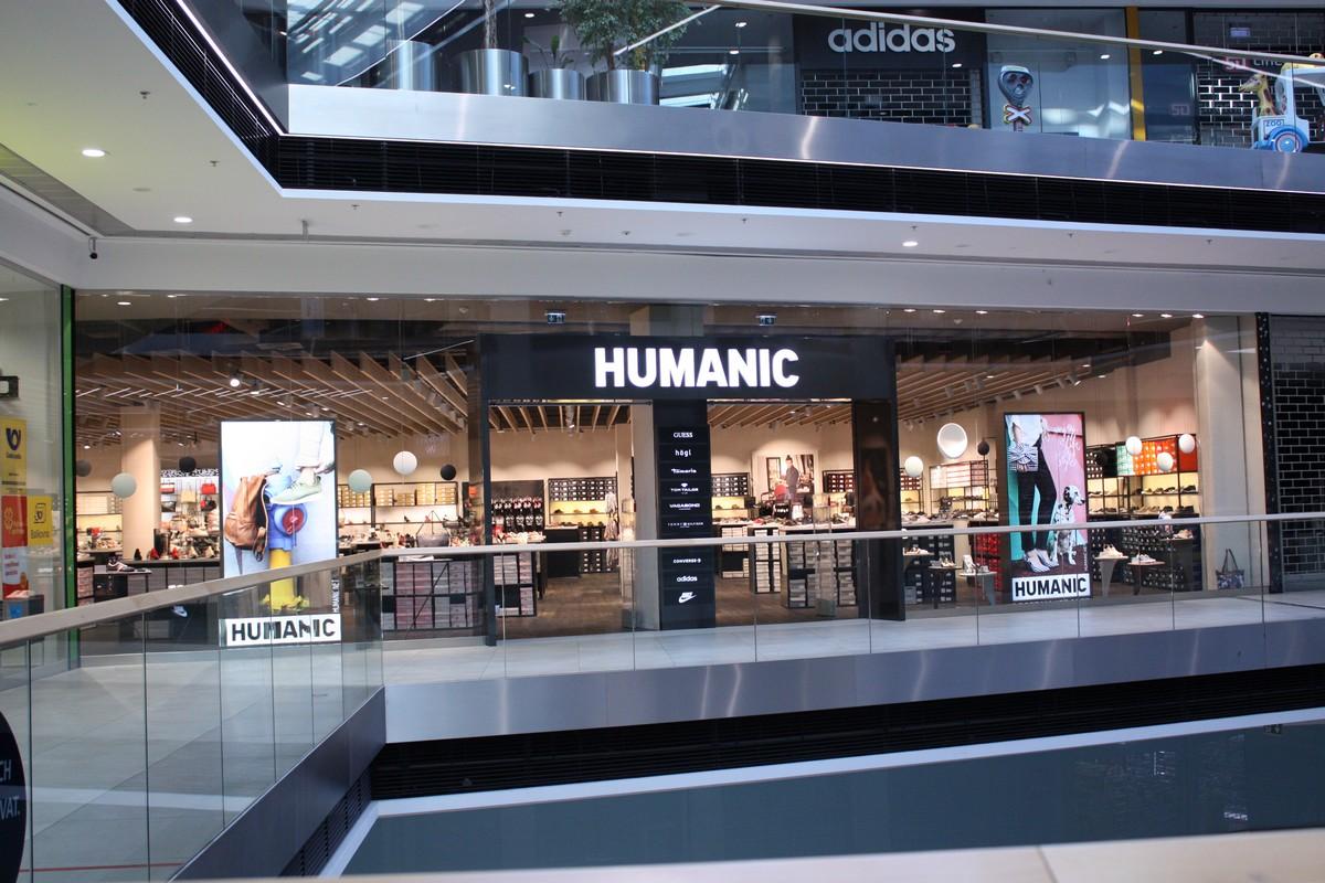 c7c8219c01d3 Obuv Humanic otvírá v olomoucké Šantovce v novém konceptu — Médiář
