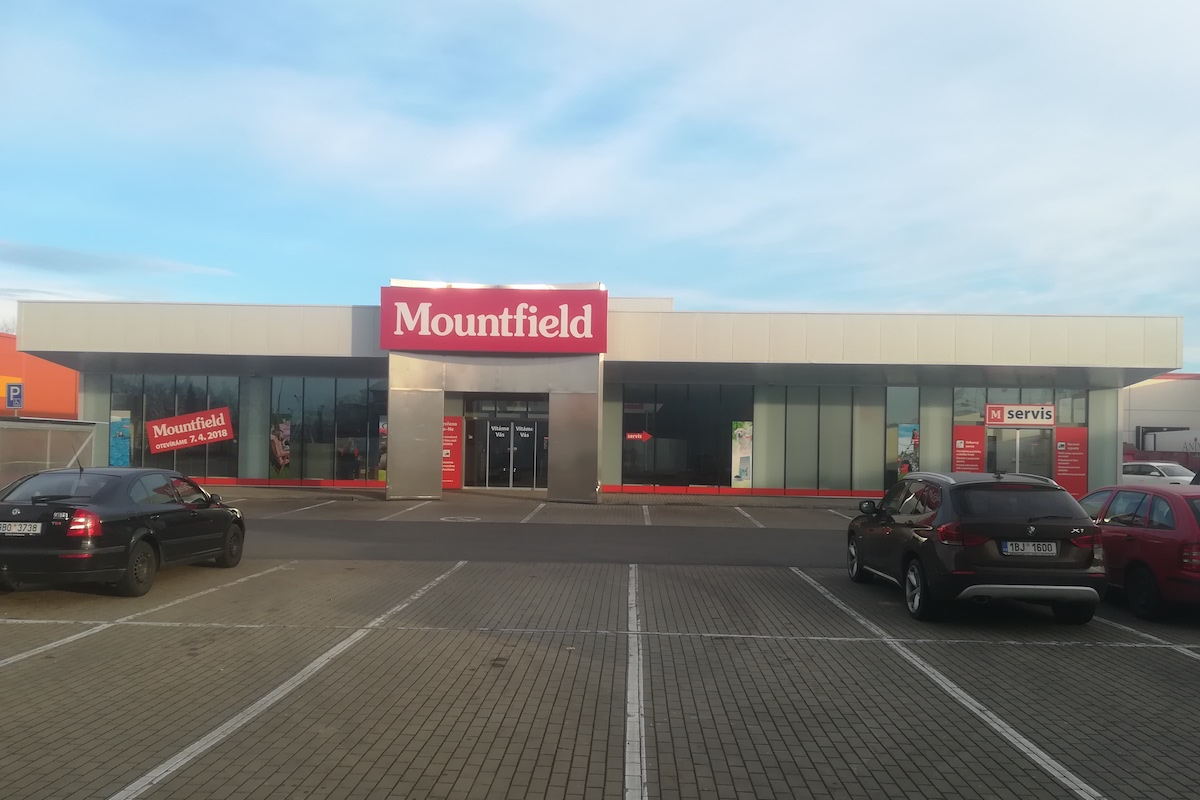 Nové prodejní centrum Mountfieldu v Hodoníně