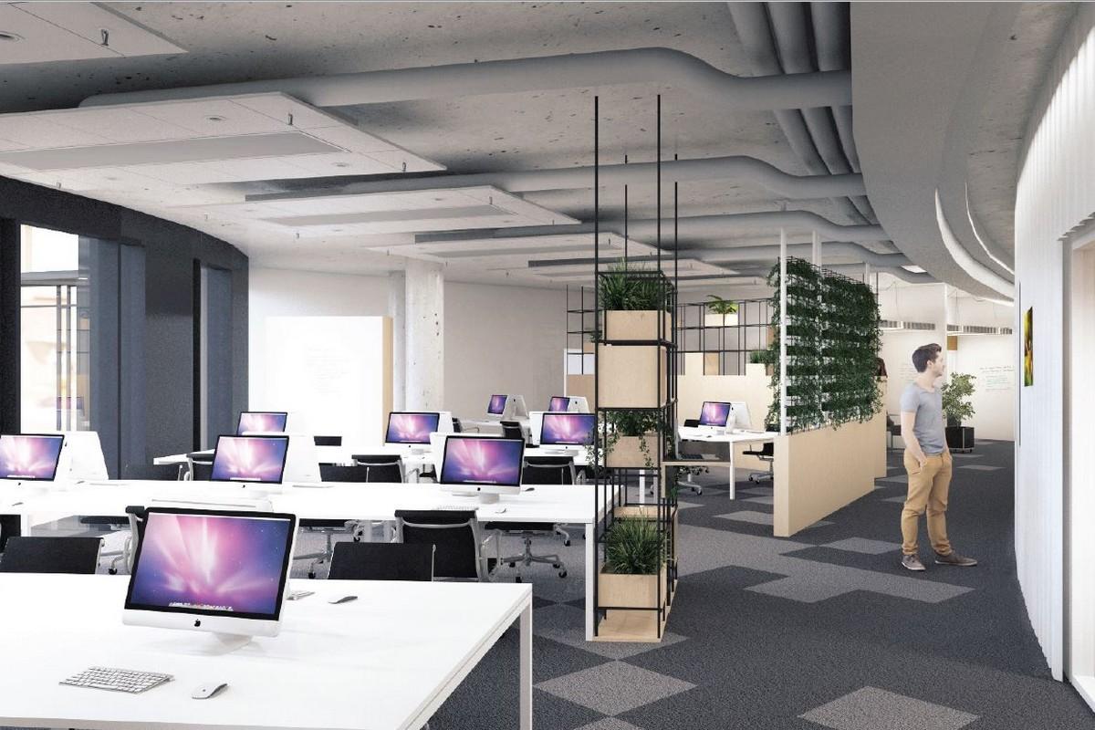 Vizualizace nových kanceláří Slevomatu