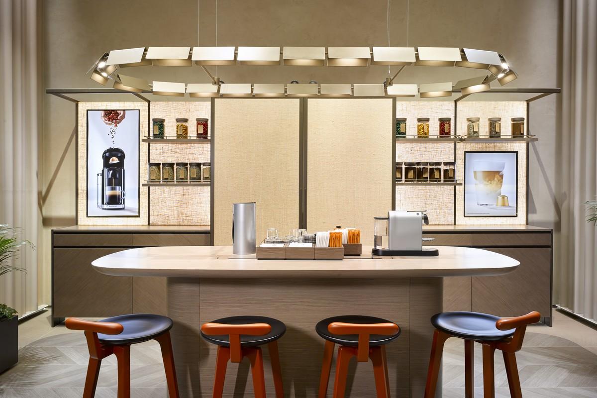 Nový Nespresso Boutique v OC Nový Smíchov