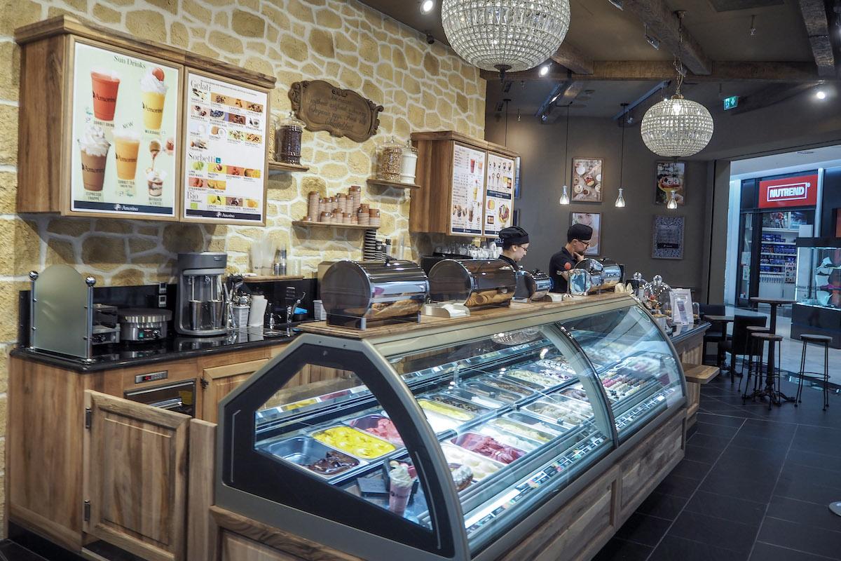 Nová pobočka Amorina v obchodním centru Chodov