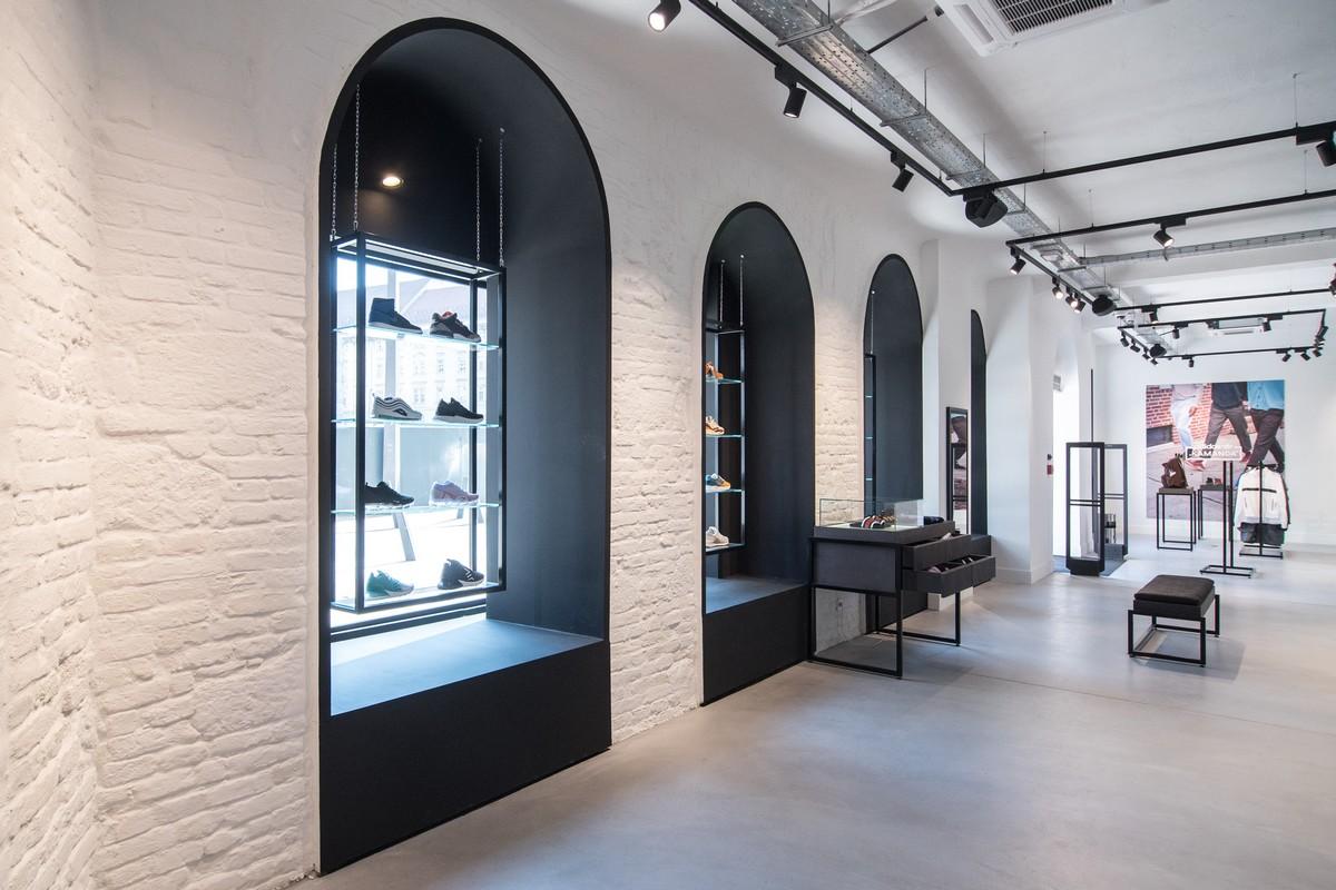 Prostory nové budapešťské prodejny